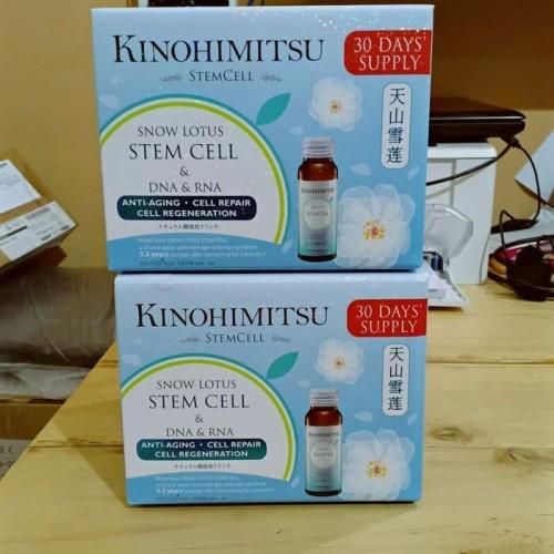 Foto Produk kinohimitsu snow lotus stemcell 16botol dari sehat herbal999