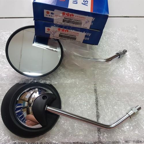 Foto Produk Spion Suzuki Lets Chrome Kiri Kanan Set Drat 14 Original Suzuki dari Lestari Motor 2