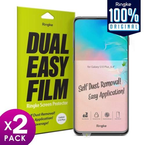 Foto Produk Screen Protector Galaxy S10 Plus / S10e / S10 Ringke Dual Easy Full - Plus dari Unicase Store