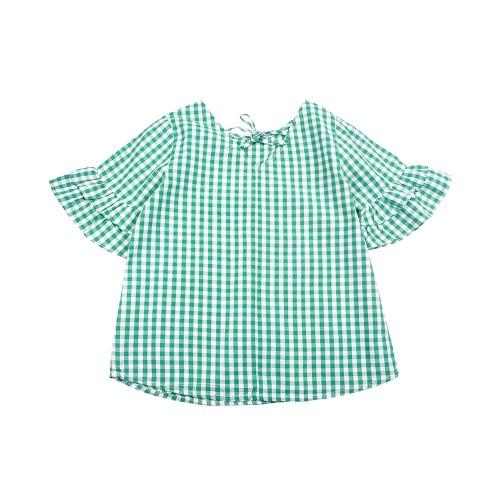 Foto Produk KIDS ICON - Checked Blouse Anak Perempuan CURLY - LYB00100190 - 6-7 tahun dari Kids Icon