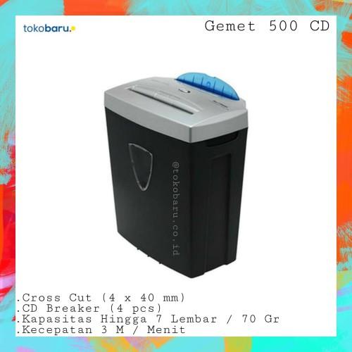 Foto Produk Mesin Penghancur Kertas dan CD Gemet 500CD dari Kohen Store