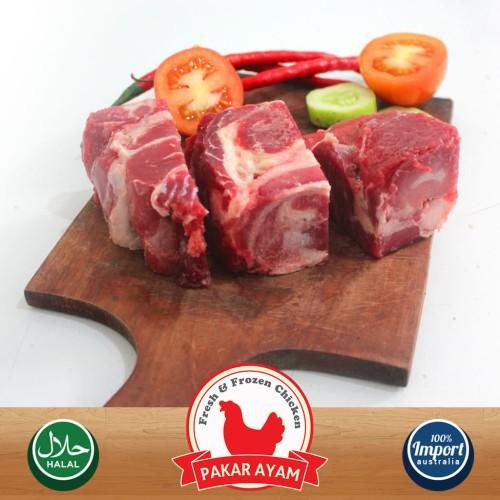 Foto Produk Daging Sapi Tanjung untuk Rawon Kemasan 500gr Berkualitas Import dari Pakar Ayam