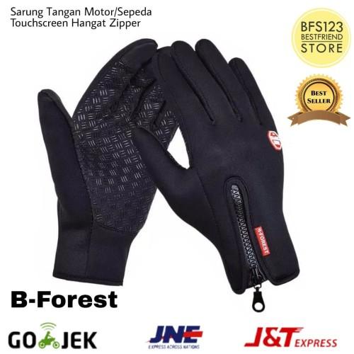 Foto Produk Sarung Tangan Motor/Sepeda Touch Screen Waterproof Windproof dari bfs123