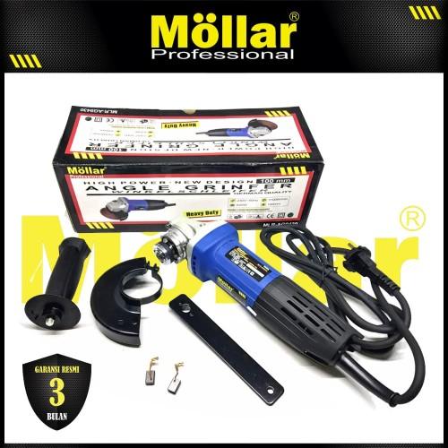 Foto Produk MOLLAR AG9430 Mesin Gerinda Tangan 100 mm 620 Watt dari Mollar Official