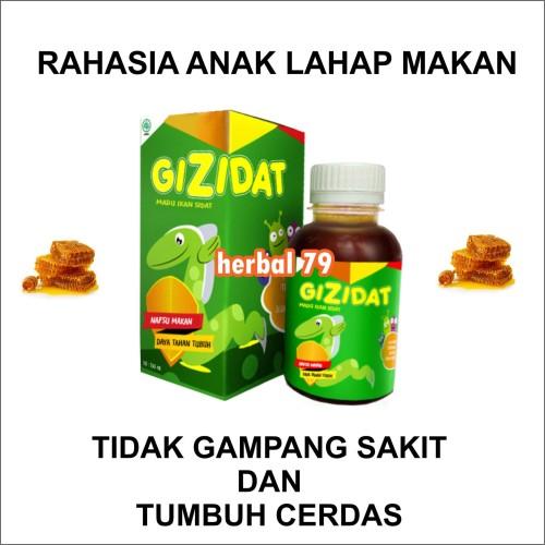 Foto Produk GIZIDAT ORIGINAL - Vitamin Penambah Nafsu Makan Anak Sehat Cerdas dari Herbal 79