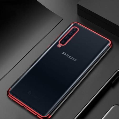 Foto Produk Case Samsung A9 2018 softcase casing cover ultra thin slim TPU PLATING dari Jakey Online Shop