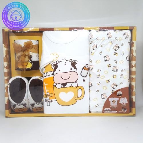 Foto Produk Paket Perlengkapan Bayi Baru Lahir / Baby Newborn Gift Set GB013 dari Golden Bell