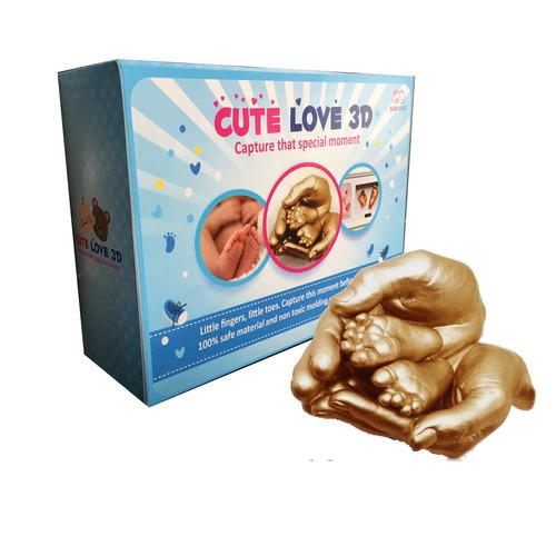 Foto Produk Cetakan Tangan dan Kaki Bayi (Miracle Baby 3D) dari Cute Love