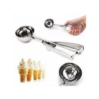 Foto Produk Ice Cream Scoop 4CM - Centong Es krim Stainless Steel dengan per 4cm dari MGM Online