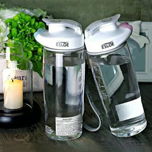 Foto Produk [ ESLOE ] Botol Minum Esloe 500ml/Tempat Air Bottle Tritan H318 Korea dari Green Cosme