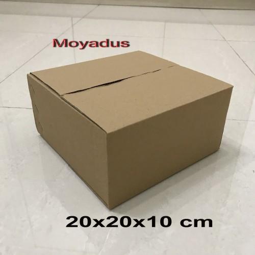 Foto Produk kardus/karton/box uk.20x20x10 cm untuk packing, MP dari Aricamoya