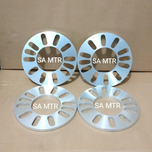 Foto Produk SPISER / SPACER Ban Roda Velg Mobil 5 mm Universal / Set 4 Pcs dari SA-MTR