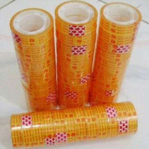 Foto Produk New Selotip / Isolasi Nachi Murah Bening 1/2x10 Kecil - 12cm Per Lusin dari just office