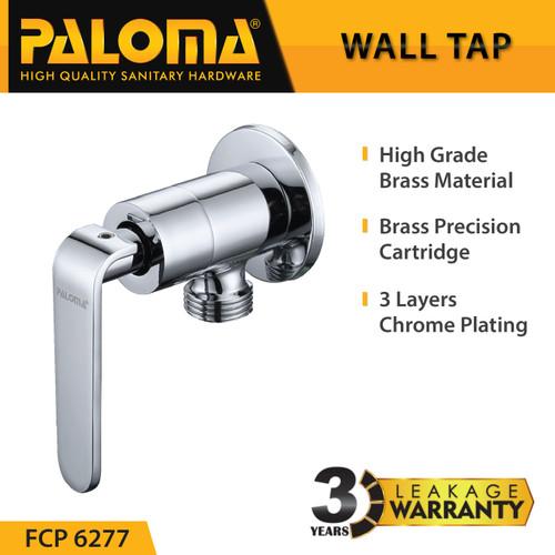 Foto Produk PALOMA FCP 6277 Keran Stop Toilet WC Jet Shower Valve Tembok Kran Air dari PALOMA HARDWARE