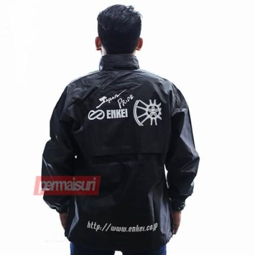 Foto Produk Enkei Parachute Style Black│Jaket Enkei Ori - SIZE L dari PERMAISURI