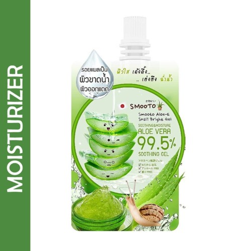 Foto Produk SMOOTO ALOE-E SNAIL BRIGHTS GEL dari LA Girl Indonesia