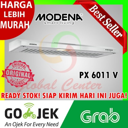 Jual Cooker Hood Penyedot Asap Modena Px 6011 V Garansi Resmi Khusus Gosend Jakarta Barat Global Home Center Tokopedia