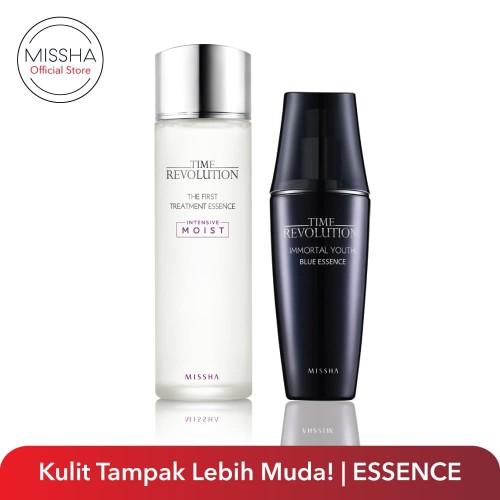 Foto Produk Skin Care Routine (First Treatment Essence + Blue Essence) dari Missha Indonesia