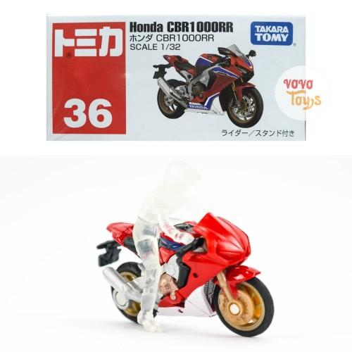 Foto Produk Tomica Reguler 36 Honda CBR1000RR Red dari Vovo Toys