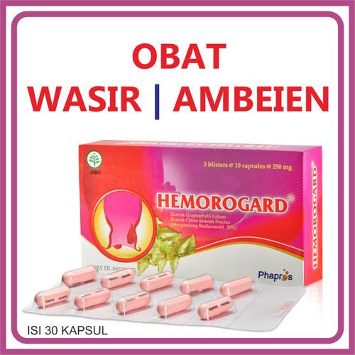 Foto Produk HEMOROGARD obat wasir / ambeien dari phapros