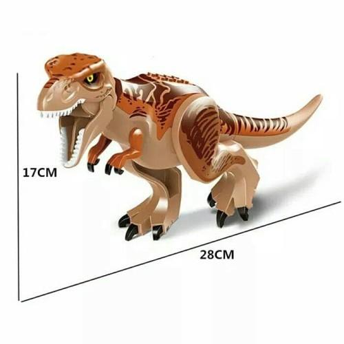 Foto Produk Lego Building Block Jurassic Dinosaurus World Tyrannosaurus T Rex dari Larizt Shop