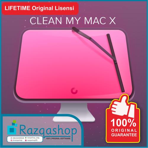 Foto Produk CLEAN MY MAC X Original Lisensi Lifetime dari razqashop_bdg