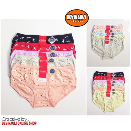 Foto Produk Murah (6 pcs) Celana dalam wanita Sorex 13214 dari devinauly online shop