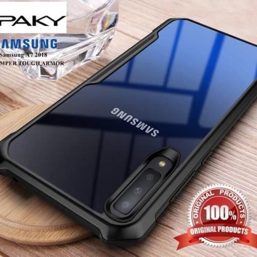 Foto Produk Case Samsung Galaxy A7 2018 Ipaky Bumper Aprolink dari BJ Shop 88