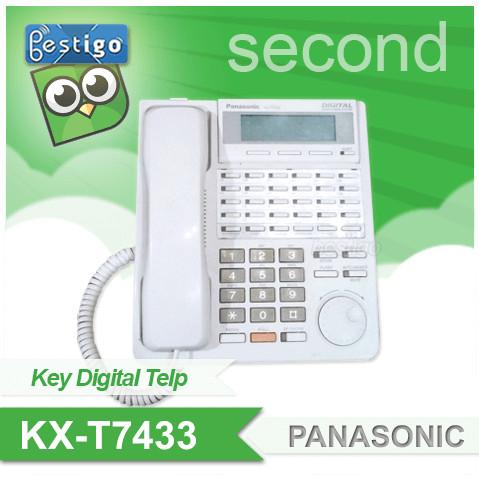 Foto Produk KX-T7433 Telepon Digital Panasonic Second dari BESTIGO PABX TELEPON