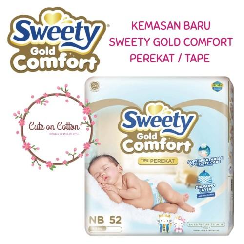 Foto Produk Sweety Gold Comfort Tape NB52 NB 52 - 1 Pack NB52 dari Bag on Style