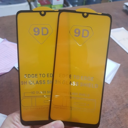 Foto Produk TEMPERED GLASS FULL LEM 9D XIAOMI REDMI NOTE 7 NEW 2019 - BLACK ONLY dari BenuaCell