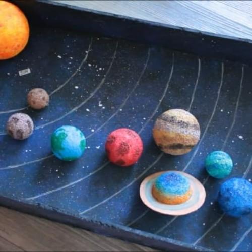 Foto Produk paket bola gabus susunan planet antartiksa polos matahari bumi 10 biji dari kepo belanja
