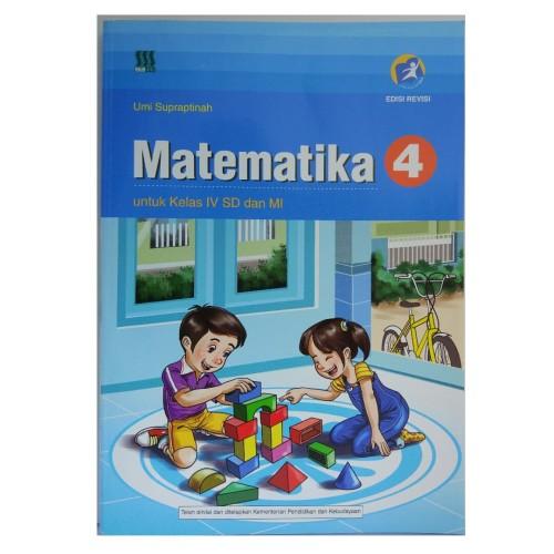 Foto Produk Buku Matematika Kelas 4 SD Kurikulum 2013 Lulus Penilaian Kemendikbud dari Diaz shop depok