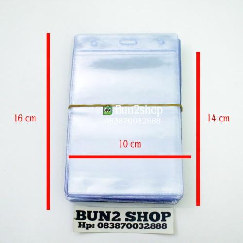 Foto Produk Plastik ID Card / Plastik Panitia 10 x 16 cm / Plastik Untuk Seminar dari Bun2shop