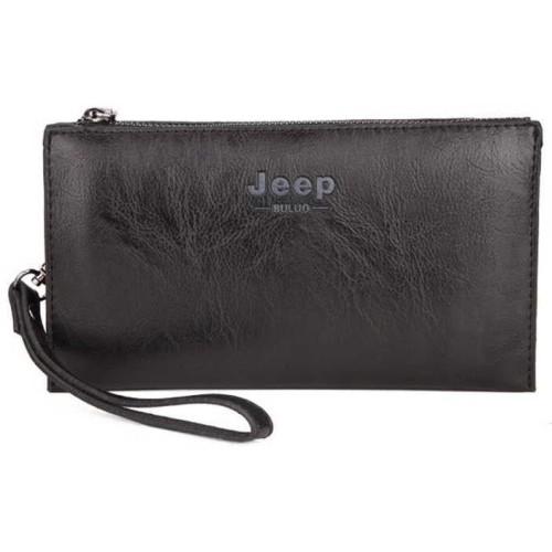 Foto Produk Tas Tangan Pria Wanita Dompet Tangan Clutch Bag Handbag Jeep Buluo - Hitam dari lbagstore