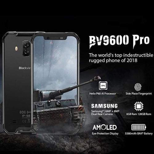 Foto Produk BLACKVIEW BV9600 PRO 6GB 128GB - Hitam dari As Gadget Store