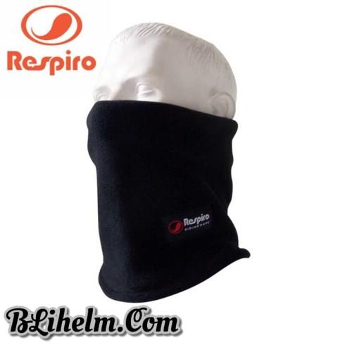 Foto Produk Respiro Neck Tube   Black   Masker dan Pelindung Leher Pengendara Moto dari BLiHelm