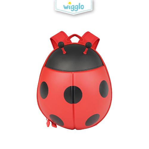 Foto Produk Wigglo Junior Backpack Ladybug (Large) dari Wigglo Indonesia