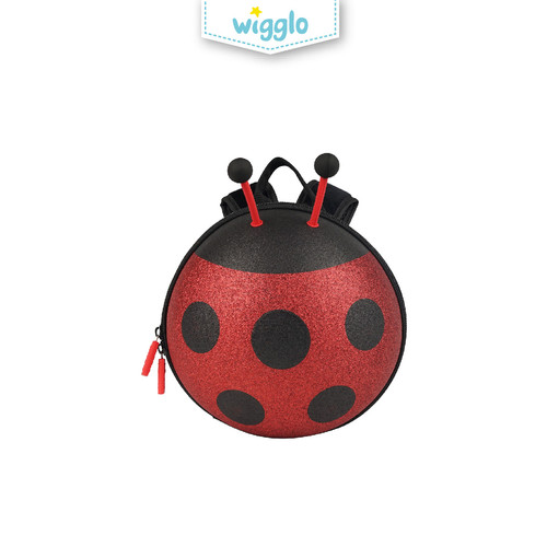 Foto Produk Wigglo Junior Backpack Glitter Ladybug (Small) dari Wigglo Indonesia