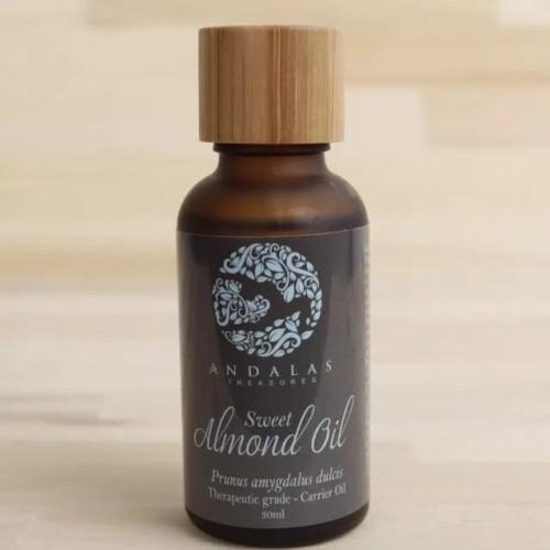 Foto Produk Andalas Treasures Sweet Almond Facial Serum Face Oil 30mL Minyak Alami dari WMO