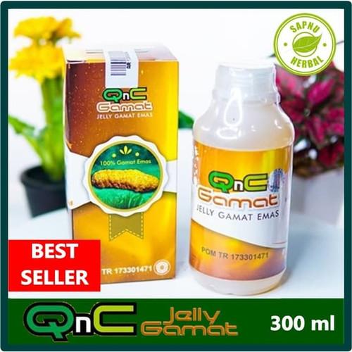Foto Produk Obat Cacar air - Obat Campak - Penghilang Bekas Cacar QnC Jelly Gamat dari AGEN OBAT HERBAL WALATRA