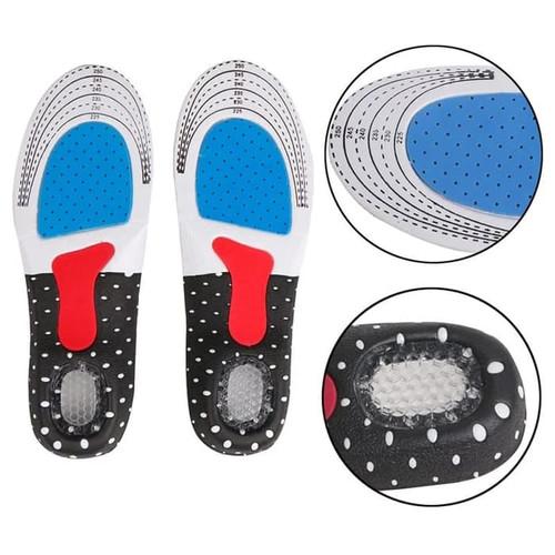 Foto Produk Shoe Pad Silicone alas kaki sepatu gel insole Empuk sepatu sneaker - Size L dari lbagstore