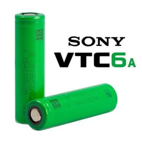 Foto Produk Authentic Grosir Sony VTC6A Battery Vape VTC 6A 18650 Mecha Vape Vapor dari VapeOi