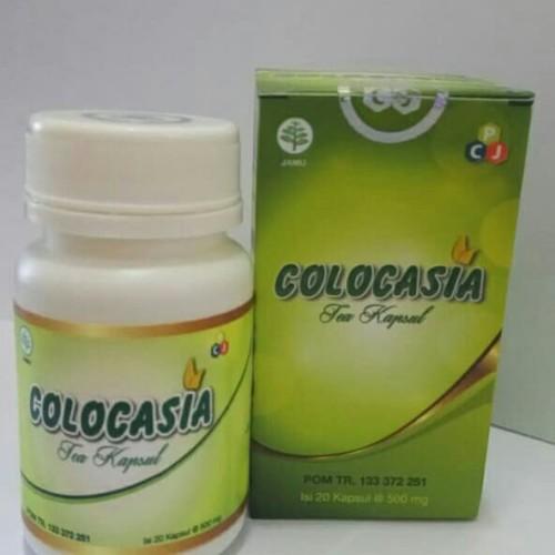 Foto Produk COLOCASIA Vitamin Obat Herbal Kesehatan Tulang Pelumas Nyeri Sendi dari ARRAZKA GREEN SHOP