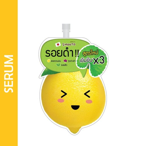 Foto Produk SMOOTO Lemon-C Acne Plus White Serum dari LA Girl Indonesia