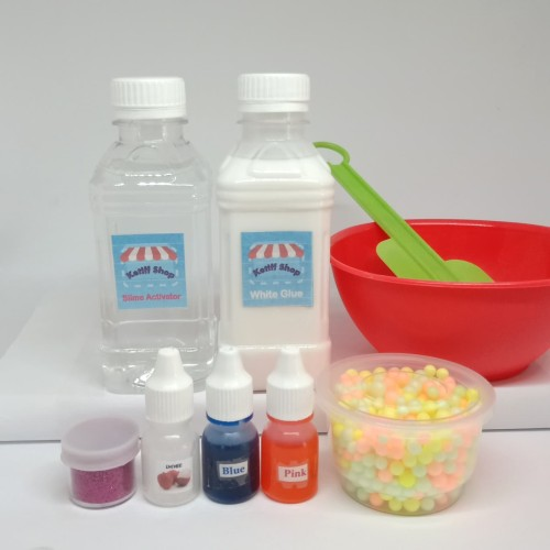 Foto Produk Slime Kit / Slime anti gagal dari ketiff shop