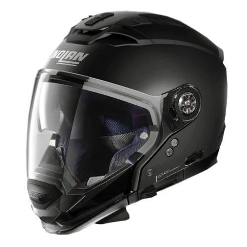 Foto Produk NOLAN N70.2 GT CLASSIC FLAT BLACK 10 dari Juragan Helm ID