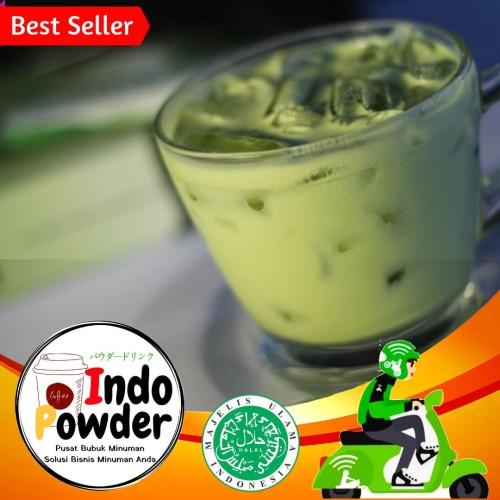 Foto Produk Green Tea Powder 1Kg / Powder Green Tea 1Kg / Green Tea / Matcha 1Kg dari indopowder