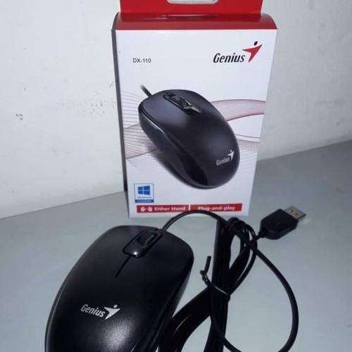 Foto Produk Mouse Genius DX-110 DX110 USB dari Go On Shop