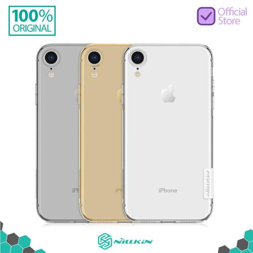 Foto Produk Nillkin Nature TPU Soft Case iPhone XR - Abu-abu dari Nillkin Official